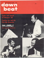 Downbeat September 5, 1968